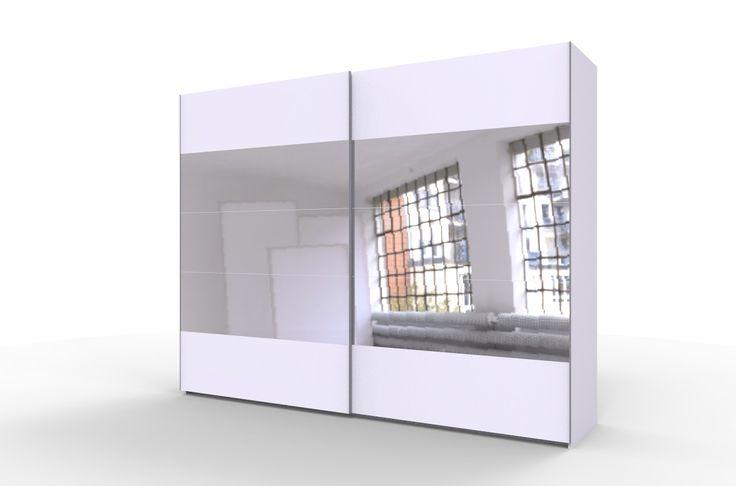 STORE 270 duża biała szafa z lustrami długa 270 cm ! w super cenie 1399 zł