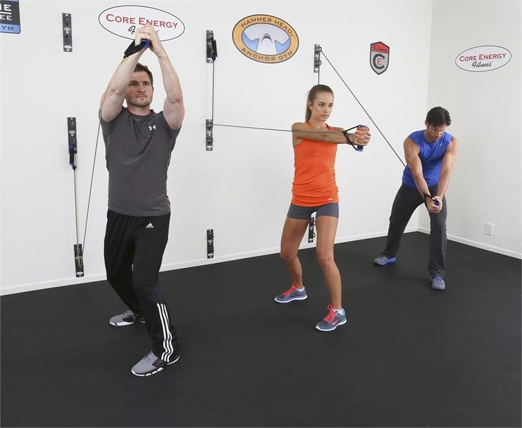 Anchor gym wall mounted functional training system core