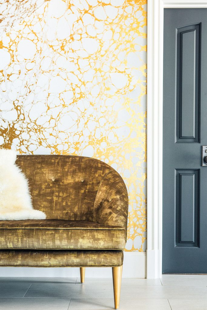 Get the look: powder room panache & a home tour — The Decorista