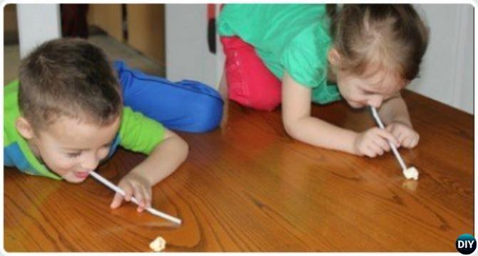 Popcorn Olympics-20 Indoor Kids Activities  #Parenting, #Kids, #HomeSchool