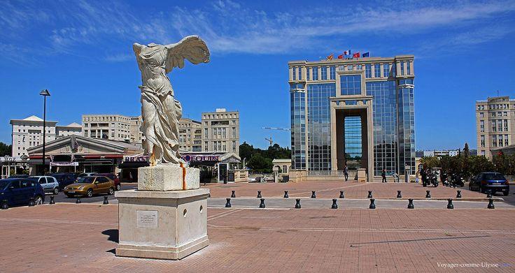 Quartier Antigone de Montpellier : une architecture à vivre www.with-immobilier.com