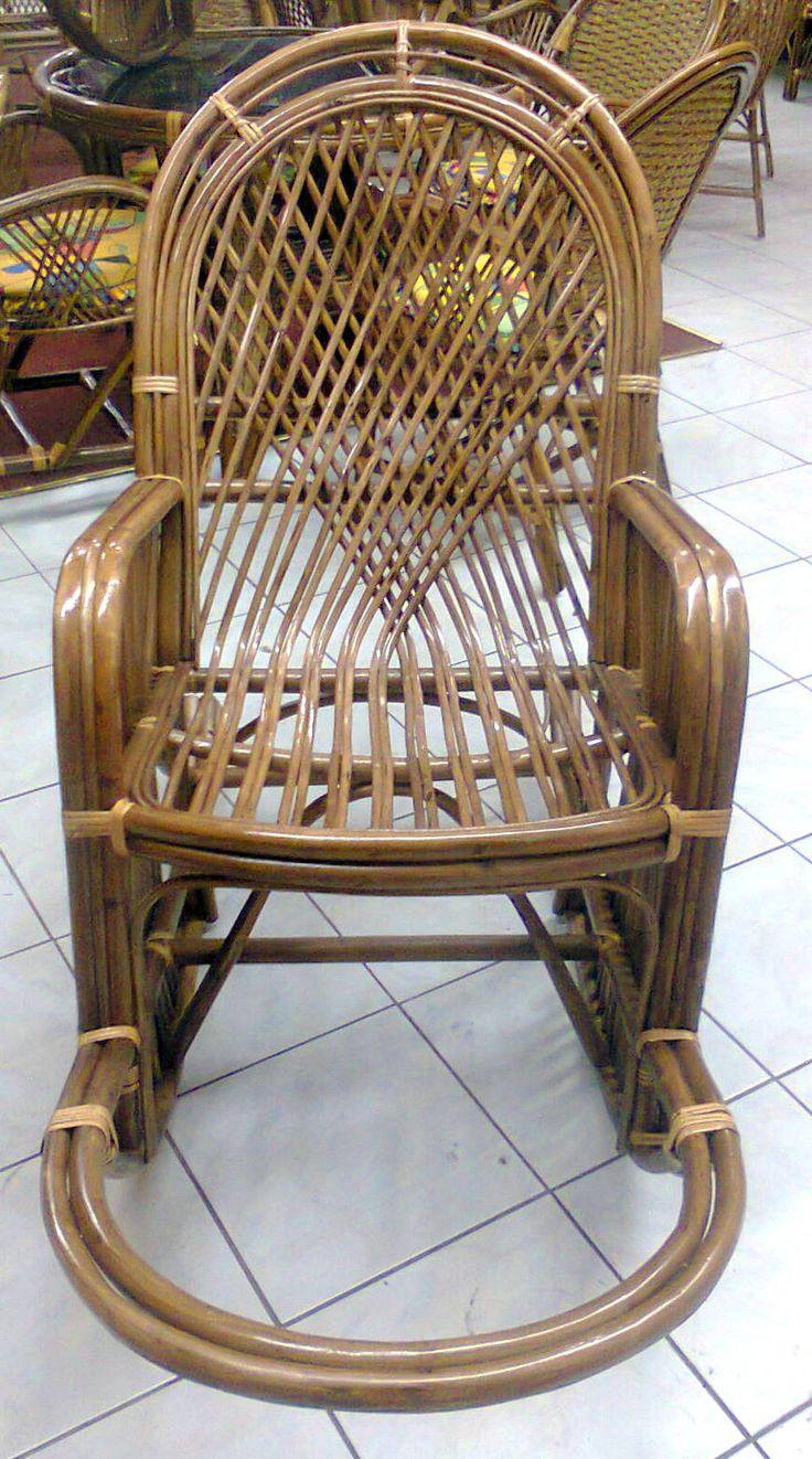 bambu sallanan sandalyeler