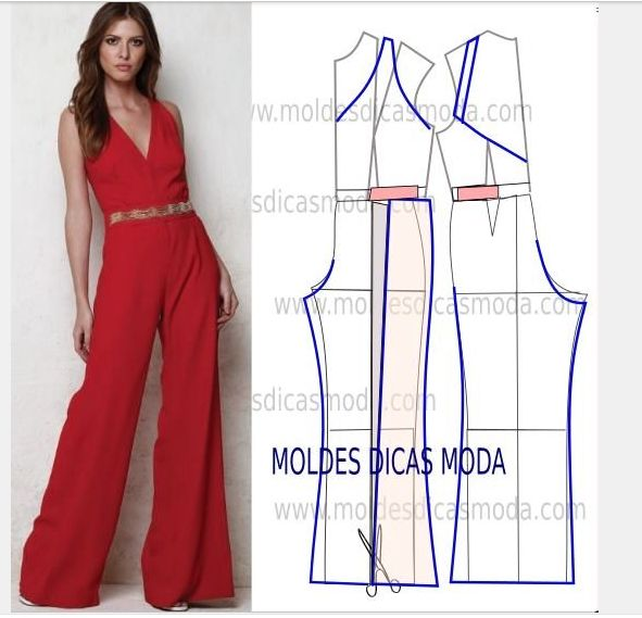 Pants jumpsuit