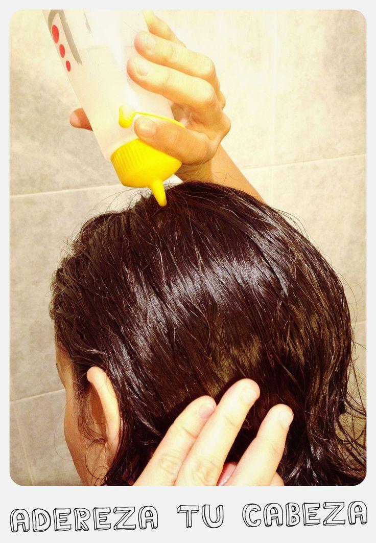 """Durante dos años completos me lavé el pelo sin champú. En este post te cuento mi método """"no poo"""" con bicarbonato y vinagre ¡sin perder nunca el glamour!"""