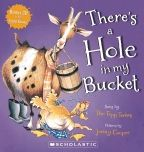 Sing along with me!  There's a hole in my bucket, dear Liza, dear Liza...  This traditional 'infinite loop' song is given the country treatment by the iconic Topp Twins, and the characters of Henry and Liza have been brought to uproarious life with Jenny Cooper's hysterical illustrations!  Includes CD of the song recorded by the Topp Twins that will bring a chuckle to children and adults alike.