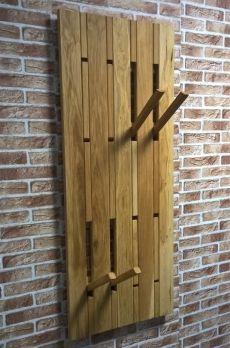 Garderobenpaneel Meran aus der MKS Möbel Kollektion von MS Schuon: Massiv, stilsicher und geschmackvoll!   Unsere Wandgarderobe Meran aus Eiche geölt besti