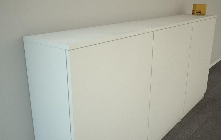 Sideboard Weiss 30 Cm Tief In 2020 Sideboard Weiss Sideboard Tiefer Schrank