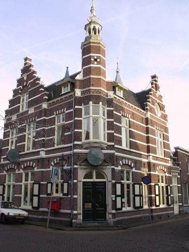 Voormalig Postkantoor Cattenhagestraat, Vesting, Naarden.