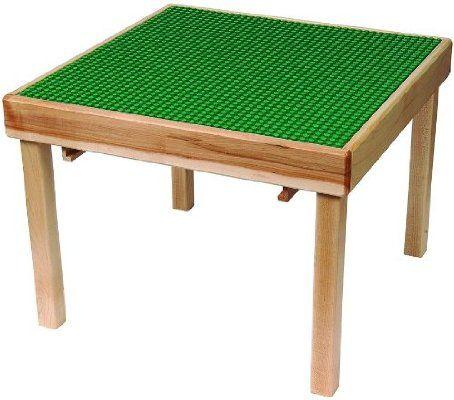 LEGO Education 6099598 Green Durable Hardwood Flip Top Playtable