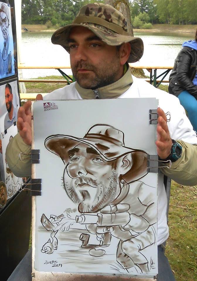 Live event caricature