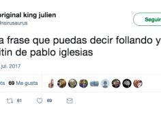 Pablo Iglesias responde con una frase a la broma más de moda en Twitter