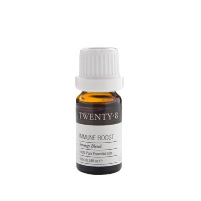 Immune Boost Synergy Blend - This potent combination of Eucalyptus, Lavender, Tea Tree, Cedarwood and Pine is perfect for strengthening the body's immune system to get you back on top fast and feeling great. A powerful decongestant with anti-bacterial properties, use as your safeguard and immune booster. http://www.twenty8.com/online-store/essential-oil-synergy-blends/immune-boost-synergy-blend