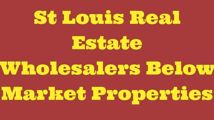 St Louis Real Estate Wholesalers Below Market Properties...#wholesalerealestate #wholesalerealestateinvesting #realestateinvesting #flippinghouses #flippinghomes #stlouisrealestate