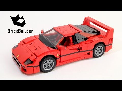 Lego creator 10248 ferrari f40 lego speed build