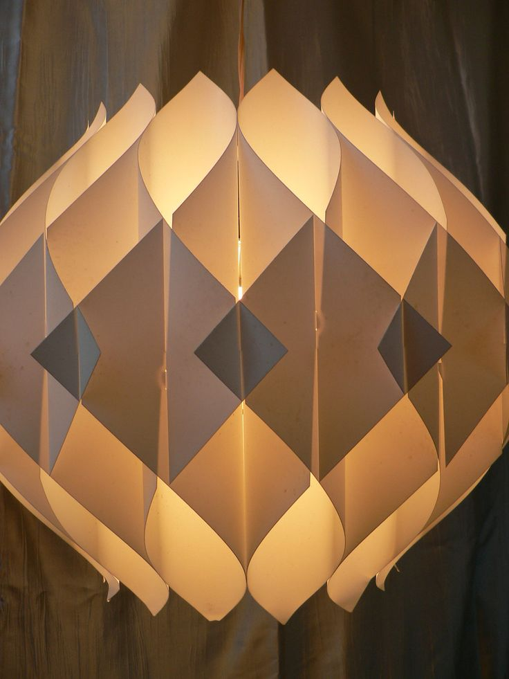 58 best images about pop up on pinterest online portfolio paper houses and paper lamps - Paper light fixtures ...