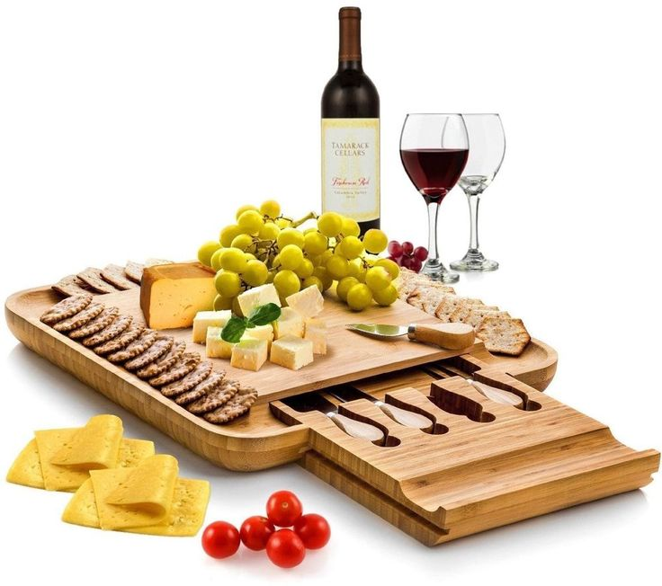 Natural Bamboo Cheese Board Cutlery Set Slide Out Drawer Serving Tray Plate #NaturalBambooCheeseBoard #NaturalBamboo #CheeseBoard #Bamboo #CutlerySet #Cutlery #ServingTray #ServingTrayPlate #Plate #TryPlate #DrawerServingTrayPlate