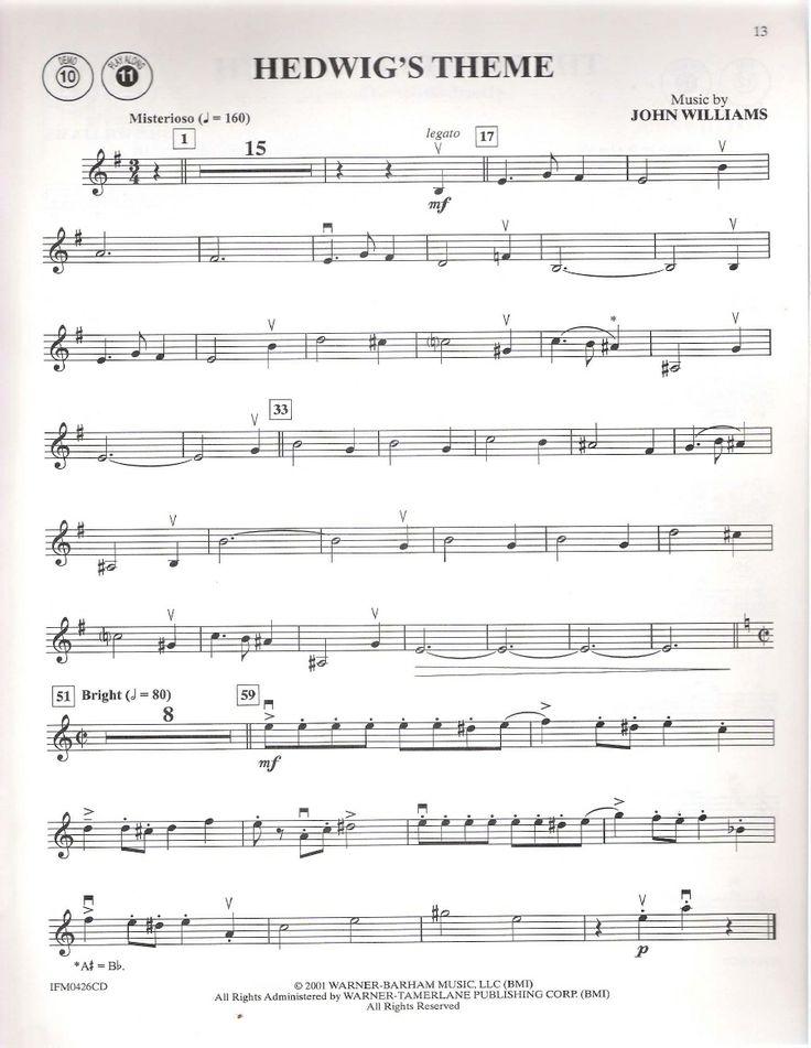Harry's Wondrous World - Flute Sheet Music by John Williams
