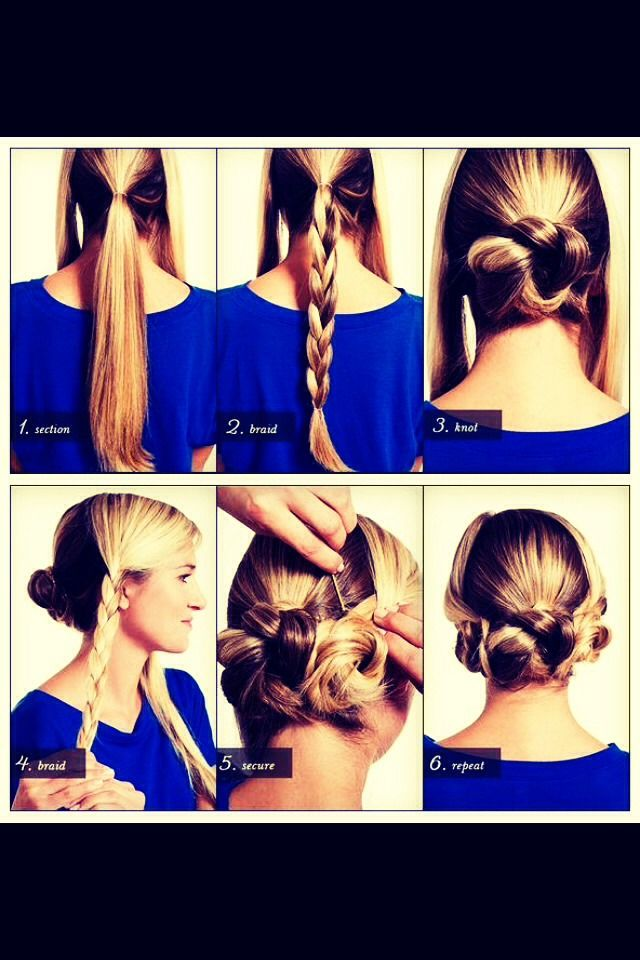 Cute And Fast Hairstyle
