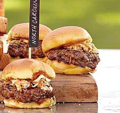 Carolina BBQ Sliders... Happy Hour Appetizers 6 | Hampton Roads Happy Hour - 2, 1.7.4