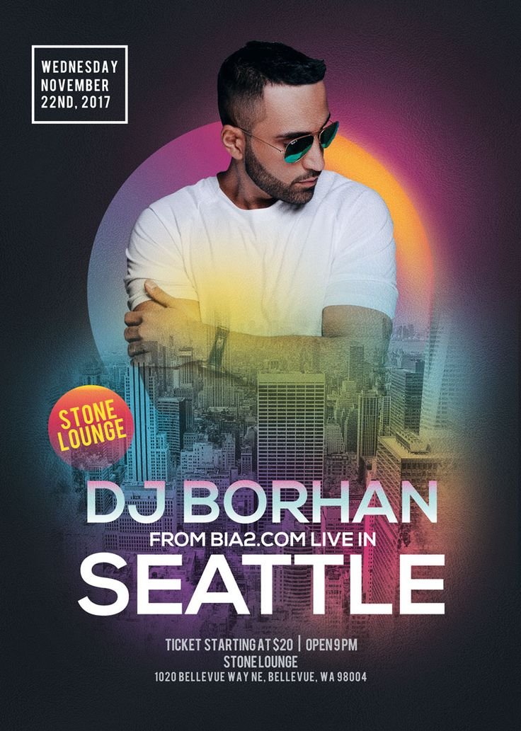 DJ Borhan in Seattle for the first time on November 22nd, 2017 at Stone Lounge.