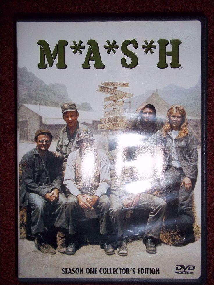 MASH DVD Season 1 Alan Alda Wayne Rogers McLean Stevenson Loretta Swit Burghoff