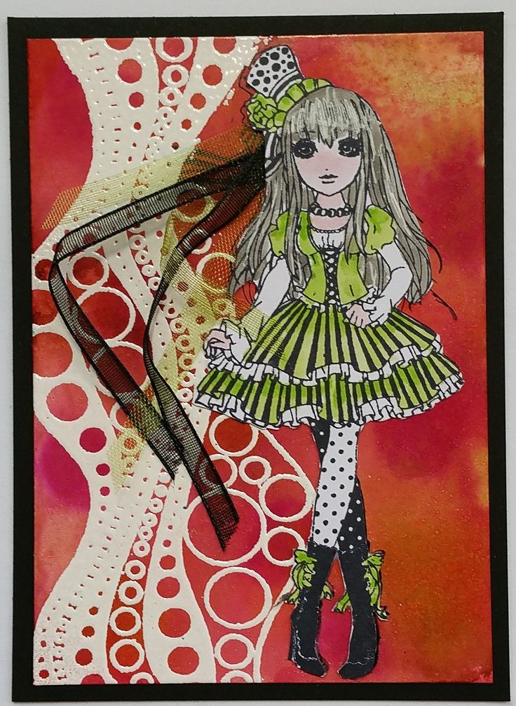 ATC use ribbon, rope and/or lace