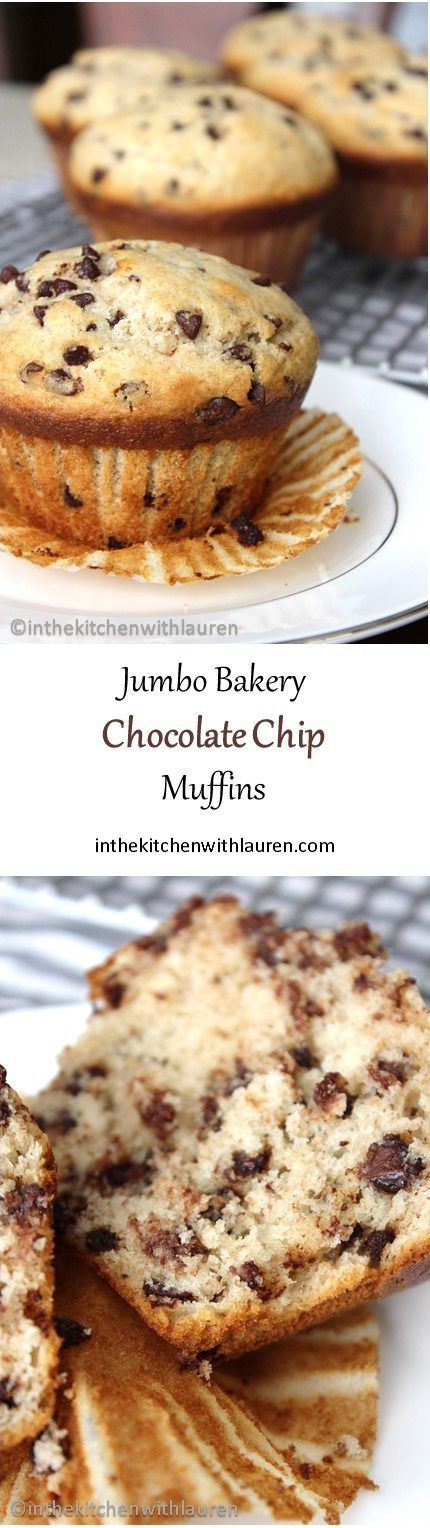 Jumbo Bakery Chocolate Chip Muffins
