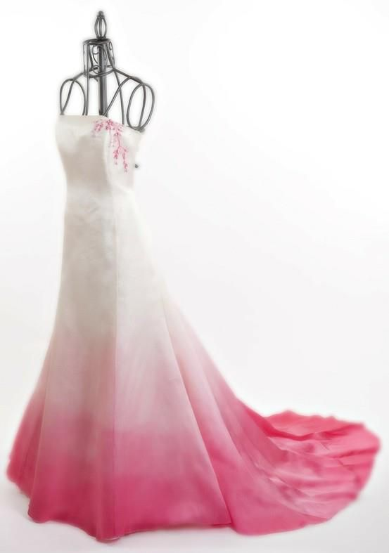 113 best images about OMBRE WEDDING DRESSES on Pinterest | Wedding ...
