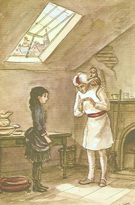 A Little Princess, illustration by Tasha Tudor