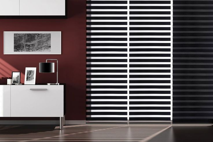 Zebra Blinds offers artistic feeling to the user functionally and acts as sunshade at the same time.  The uniqueness of the product is double fabrics adjust light and view giving you the option of dual Serving. The advantages of zebra blinds are that it integrates the function of Venetian blinds and roller blinds.