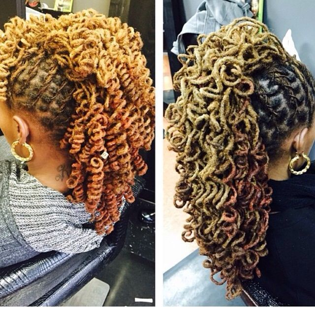 black hair styles updo 60 best semi free form locs images on la la la 9793