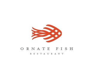 Ornate Fish Logo