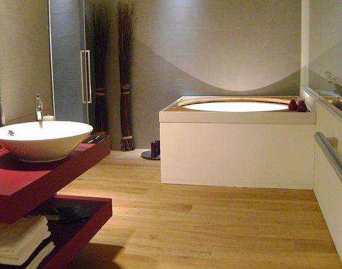 allestimento ambiente bagno per azienda arredo bagno  Architettura d ...