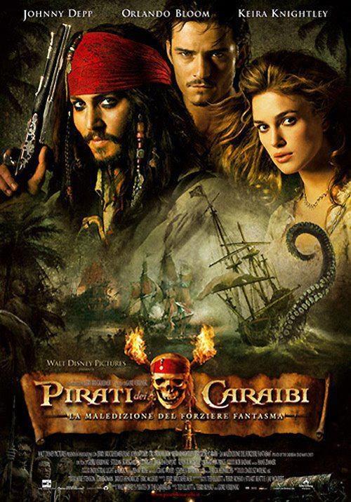 Pirati dei caraibi - la maledizione del forziere fantasma.