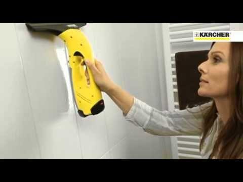 Lavavetri Karcher WV50 , pulire i vetri non è mai stato così' facile! Guarda il video