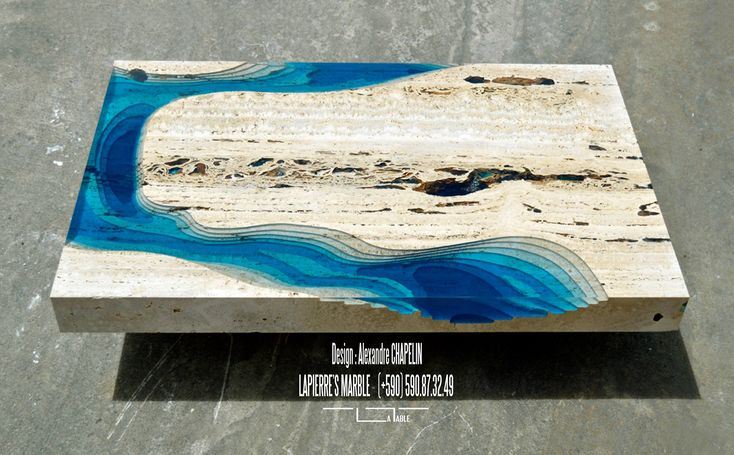 The LAGOON Model, A Unique Coffee Table Designed By Alexandre Chapelin For  LA TABLE. The LAGOON Coffee Table Is Something For Individualists, Peoplu2026