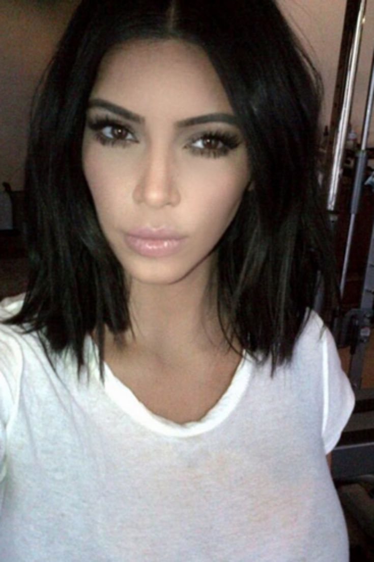 33 best kim Kardashian❤❤ images on Pinterest | Hairstyles ...