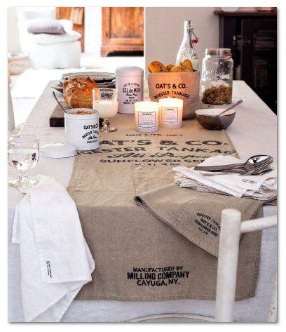 ぐんとお洒落になっちゃう♡テーブルランナーのある食卓 | folk テーブルランナーとは?