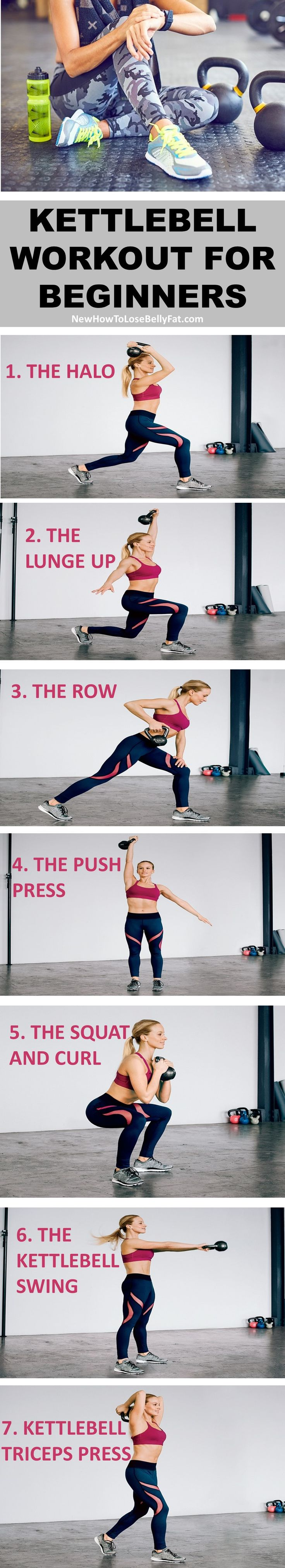 The kettlebell workout that will get even beginners off to a great start. | Posted By: AdvancedWeightLossTips.com