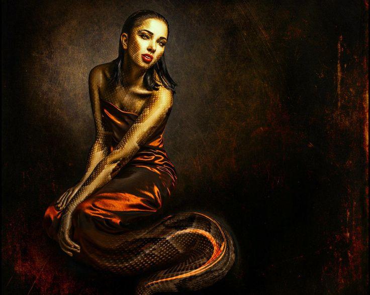 sexy lamia the snake woman