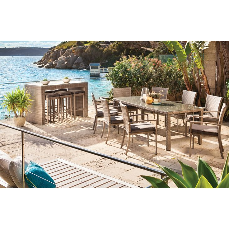 Shelta Avernley 7pce Bar Setting - BBQ's & Outdoor