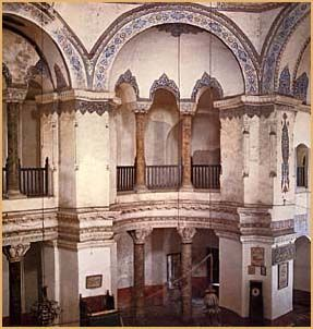 Interior of Sergius and Bakhus. 527 - 536 Istanbul