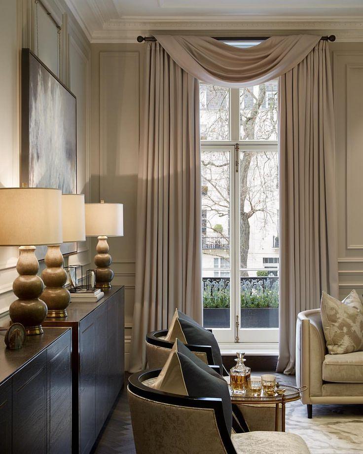 Taupe Rooms Curtain Styles Curtain Designs Elegant