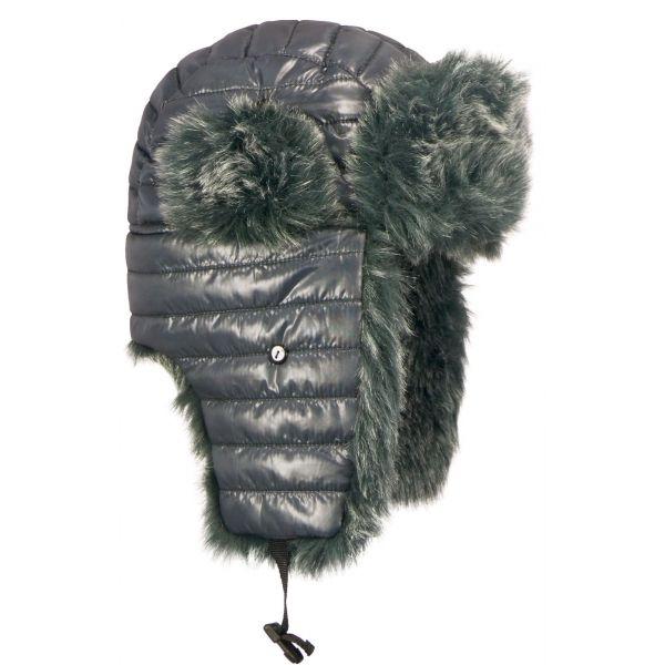 Chapka Ubuh Herman matelassé Grise #mode #hiver #chapka #nouveauté #hermanheadwear disponible sur @hatshowroom