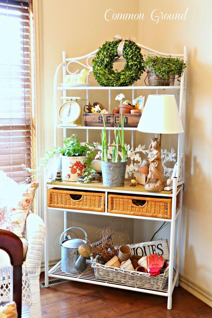 25 best bakers rack decorating ideas on pinterest bakers rack