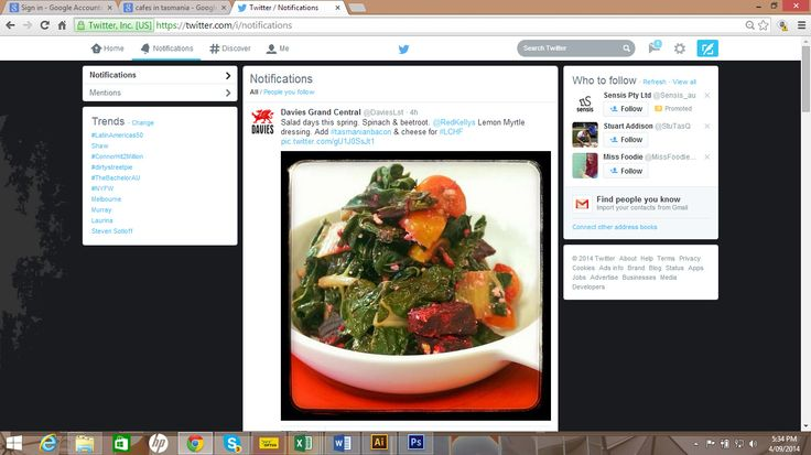 Who eats at Davies Grand Central in Launceton, Tas? Our friends there recently tweeted a picture of their spinach and beetroot salad drizzled in Red Kellys Tasmania's Lemon Myrtle dressing. Divine! Did you try some? Follow us on Twitter for more updates: www.twitter.com/redkellys