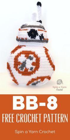BB 8 Free Crochet Pattern Haken, Haakpatronen en Patronen