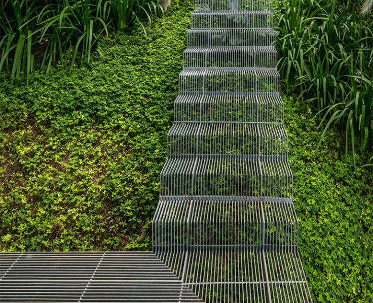 Landscape Ties Chilliwack : Ideas about outdoor stairs on railroad