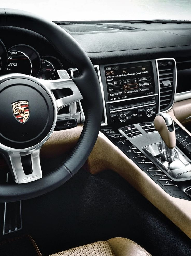 porsche panamera s interior very nice spacious fast thought i wanted it until - Porsche Panamera White Red Interior