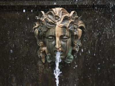 Use water from eyes like tears instead of mouth. -Aeonel How to Make Concrete Fountain Molds
